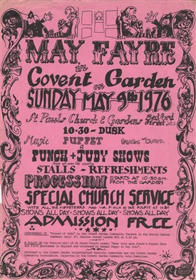 Photo:1976 May Fayre in Covent Garden