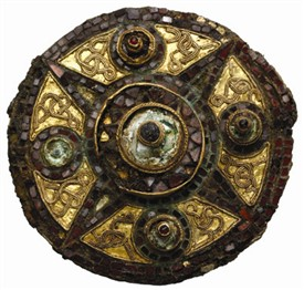 Photo:Saxon brooch from credit Museum of London