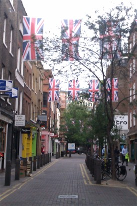 Photo:Early morning in Neal Street, Covent Garden 2012