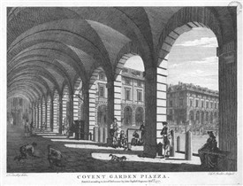 Photo:Covent Garden Piazza 1777