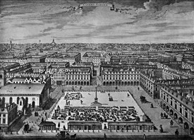 Photo:Piazza by Sutton Nicholls c1720