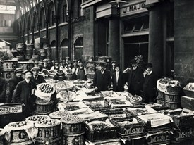 Photo:Covent Garden market in its heyday