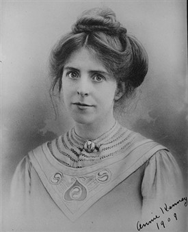 Photo:Annie Kenney, 1909