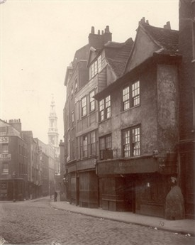 Photo:Houses survived the great fire of 1666 but didn't survive the improvements of Aldwych in1901 Alfred Henry Bool 1876
