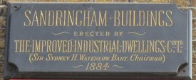 Photo:Victorian plaque on Sandringham Buildings