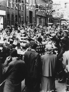 Photo:Coronation Party 1953 in Betterton St.