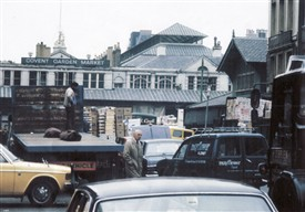 Photo:Last days of the market 1974
