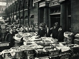 Photo:Old Covent Garden Market c1910