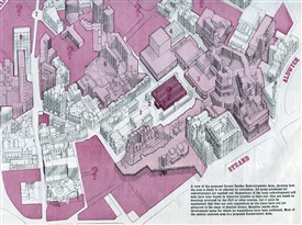 Photo:The original plan for the Covent Garden area