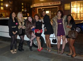 Photo:Multicultural London, London's youth on a night out